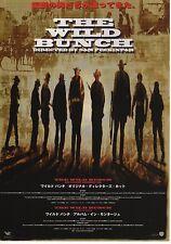 The Wild Bunch - Original Japanese Chirashi Mini Poster - Sam Peckinpah