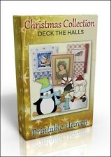 Carte-making dvd-pont le halls noël collection. brillante valeur!