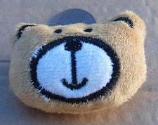 1:12 Scale Hand Made Brown Teddy Bear Face Cushion Tumdee Dolls House Accessory