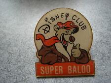 PINS BD SUPER BALOO DISNEY CLUB