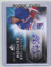 10-11 SP Game Used Derek Stepan Rookie Exclusives Auto Card RC #RE-DS Mint /100
