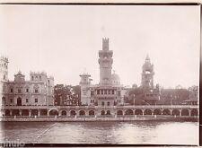 A415 Photo Citrate Original Expo Universelle Paris 1900 Vue palais sur la seine