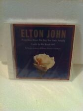 COLLECTABLE-SEALED / NEW: CANDLE IN THE WIND:ELTON JOHN 1997 & FREE CHRISTMAS CD