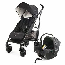 Joie Juva Travel System With Car Seat & Stroller / Pushchair Black - 0-3 Years