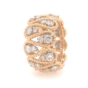 Tiffany & Co. Vintage Diamond Eternity Band in 18K Two-Tone Gold