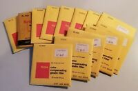 13 Kodak Color Compensating Polycontrast and Wratten Gelatin Filters