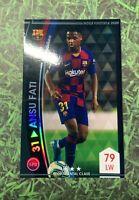 Panini WCCF Ansu Fati Rookie Footista FC Barcelona RC Scarce