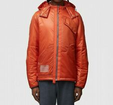 MENS A COLD WALL WOVEN JACKET DISSECTION PUFFER ORANGE (SA2) RRP £775