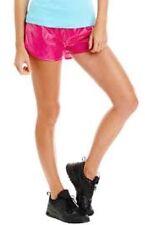NWT $72 Sz. XS LORNA JANE Women's Luminosity Shorts Raspberry Pearlescent Pink