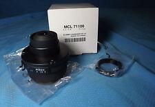 Nikon Microscope E2-CA ABBE Condenser 1.25NA Eclipse Part# MCL71100  **NEW**