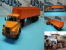 Truck camión camion camião  Saviem 19.280 HBT  França-1978   Ixo/Altaya 1:43