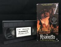 The Resurrected VHS Tape 90s Horror Based on HP Lovecraft Story OOP Good, Tested