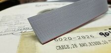 90ft - 26 conductor 28AWG PVC Gray Ribbon Cable p/n 7726A *NEW*