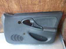 1995-2002 CHEVY CAVALIER RIGHT FRONT DOOR PANEL GREY W/OUT POWER LOCK SWITCH
