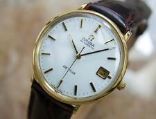 Omega DeVille Swiss Made Mens Automatic 1960s Gold Plated Dress Watch Q44