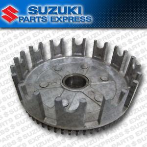 NEW SUZUKI RM80 RM85 RM 80 85 85L GENUINE OEM CLUTCH BASKET W/ GEAR 21200-02B41