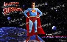 Superman GEORGE REEVES Fan Made Poster print 11 X 17---------3 VERSIONS