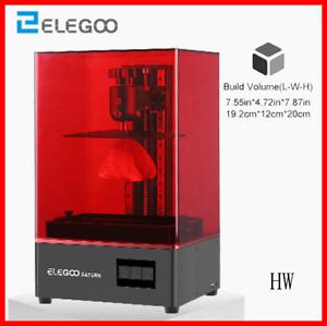 ELEGOO Saturn MSLA 4K Monochrome LCD Resin 3D Printer NEW 2021 OFFICIAL RESELLER