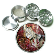 Wolf Aluminum Grinder D4 63mm 4 Piece Wilderness Animal Dog Hunter Predator