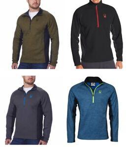 Spyder Men's Half-Zip Outbound Sweater Jacket