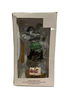 NEW Vintage 2004 Modesto Athletics Minor League Baseball PEANUT Bobblehead 7""