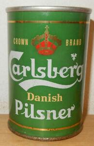 CARLSBERG Pilsener Straight Steel Beer can from DENMARK (27,5cl) Empty !
