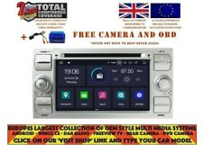 DVD GPS NAVI ANDROID 9.0 DAB+ WIFI FORD FOCUS (05-07), FIESTA (05-11) FOD-7312 S