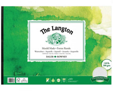 Daler Rowney A4 LANGTON 140lb Gummed Watercolour Pad NOT Surface Artist Paper