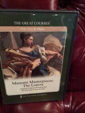 Museum Masterpieces: The Louvre. Course DVDs (2) Professor Brettell