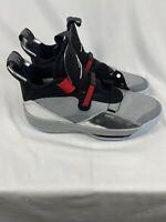 Nike Air Jordan XXXIII 33 All Star Metallic Silver Black Blue AQ8830-005 Size 13
