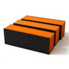 3x 3Ways Manicure Care Nail Art Acrylic Polish Varnish Sanding Sand Block Files