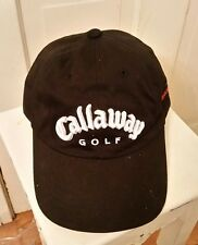 CALLAWAY GOLF COMPANY Norwood Tee Off Adjustable Strap BLACK Sport Hat Cap NWT