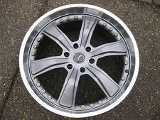 1 X Single GM Chev shelby 22X9.5 ET 36mm 1 piece wheel in good condition