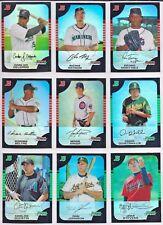 2005 Bowman Chrome Baseball Complete Refractor Base Set Cards 1-330