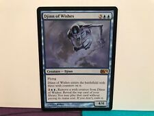 Magic the Gathering DJINN OF WISHES 51/249 M12 CORE TRADING CARDS Rare TCG