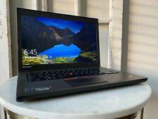 "New listing Lenovo ThinkPad T450 14"" Laptop i5-5300U 2.30 Ghz 8 Gb Ram 256 Gb Ssd Win 10 Pro"