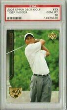 Tiger Woods 2004 Upper Deck UD Golf PSA 10 Gem Mint *POP 22*
