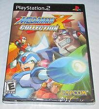 Mega Man X Collection for Playstation 2 Brand New! Factory Sealed!
