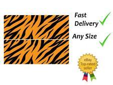 Tiger print Cake Bands Ribbon Cake side strips Icing or Wafer