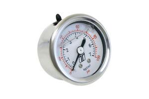 """Turbosmart FPR Fuel Pressure Regulator Gauge 0-100psi 1/8"""" NPT"""