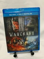 Warcraft (Blu-ray/DVD, Digital 2016, 2-Disc Set) duncan jones