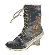Ladies Ankle Boots Wedge Heel Boots Wedges Shoes Batik-Look Pattern Vary