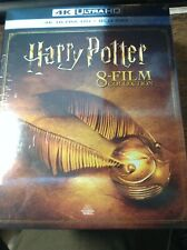 Harry Potter 4k 8 Film Collection + Blu Ray ( no digital) NEW SEALED