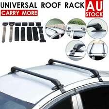 Car Top Roof Rack Cross Bars Aluminum Alloy Aero Lockable Universal New Arrived