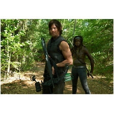 Norman Reedus in The Walking Dead as Daryl Danai Gurira 8 x 10 Inch Photo