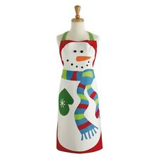 Dii Snowman Themed Apron Winter Themed Chefs Apron Fun Apron Holiday Apron