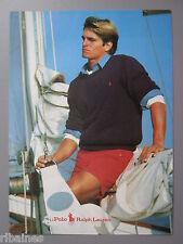 R&L Ex-Mag Advert: Polo Ralph Lauren Mens Sailing / Family Sailing Fashion