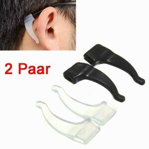 1 Paar Anti-Rutsch Brillenhalter Sportbügelenden Brille Zubehör Fassungshalter