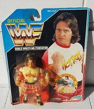 WWF WWE Hasbro Figure Rowdy Roddy Piper vintage rare on card english sealed