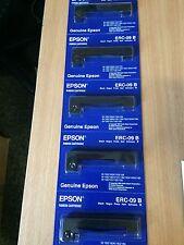 Original Epson Farbband schwarz ERC-09B 5 Stück